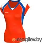 Майка волейбольная 2K Sport Energy / 140042 (XXS, красный/синий/белый)