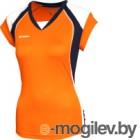 Майка волейбольная 2K Sport Energy / 140042 (YL, оранжевый/темно-синий/белый)