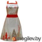 Кухонный фартук Listelle Сказочный лес. Модель Рождественский / 10901