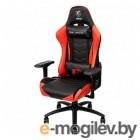 Игровое кресло MSI MAG CH120 чёрно-красное  (ПХВ-кожа, 4D подлокотники, газпатрон 4 класс)