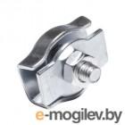 Зажим для стальных канатов одинарный 2 мм simplex (4 шт в зип-локе) STARFIX
