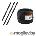 Ретро провод Эко 2х2,5 витой, черный (50м) TDM