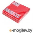 Салфетки бумажные PRO COLOUR, 25 шт., красные, PERFECTO LINEA
