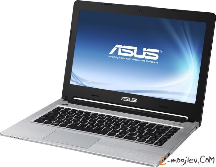 """Asus K46CM-WX054H Pentium B987/4Gb/320Gb/DVDRW/GF635M 2Gb/14""""/HD/1366x768/WiFi/BT4.0/W8SL/Cam/6c/"""