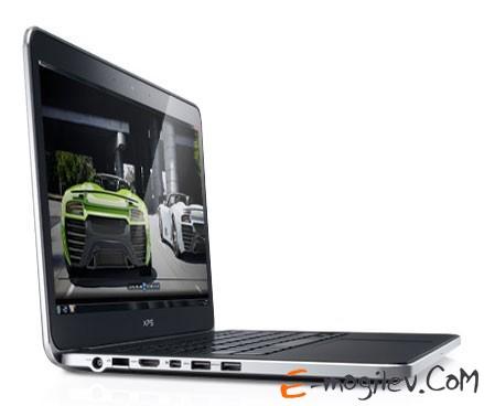 "Dell XPS 14 Core i5-3317U/4Gb/500Gb/32Gb SSD/GT630M 1Gb/14""/HD+/1600x900/WiFi/BT4.0/W8Pro64/Cam/8c/silver"