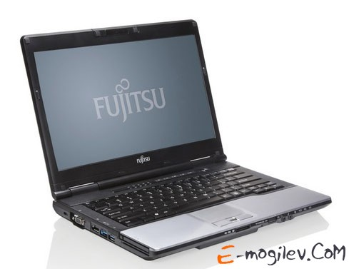 "Ноутбук Fujitsu LIFEBOOK S752 Core i5-3210M/4Gb/500Gb/DVDRW/HD4000/14""/HD+/W8Pro64/black/BT4.0/CR/6c/WiFi/Cam"