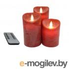 Светодиодные свечи Peha Magic Мерцающие 3шт Red MB-20124