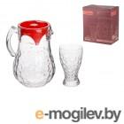 Набор (1 кувшин 1,5 л + 6 стаканов 330 мл), Мелани (Melani), NORITAZEH