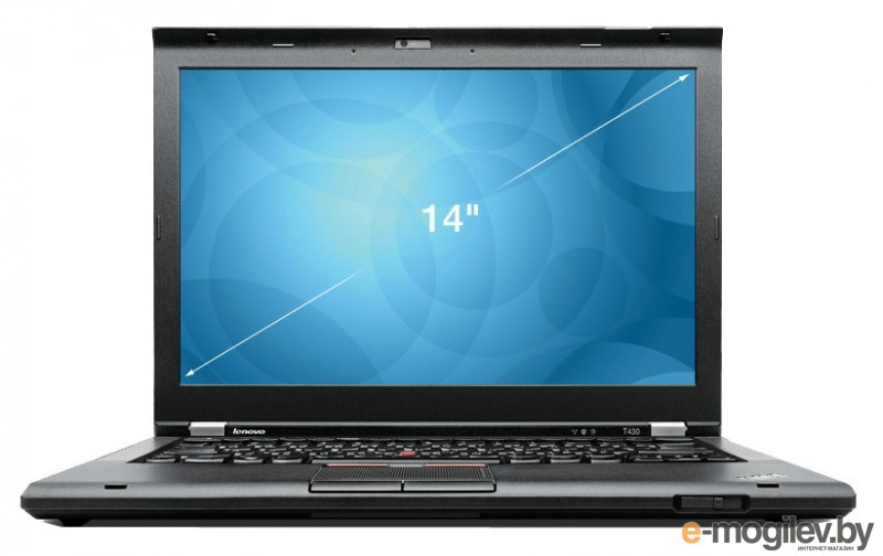 "Lenovo ThinkPad T430s 14""HD+/i5-3320M/4Gb/320Gb/W7Pro64/black"