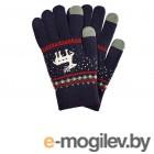Теплые перчатки для сенсорных дисплеев Activ Fashion Dark Blue 91307
