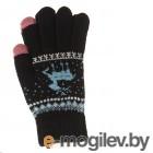 Теплые перчатки для сенсорных дисплеев Activ Fashion Black 123213
