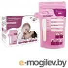 принадлежности для кормления Пакеты для хранения молока Dentalpik NDCG 200мл 25 шт 05.4422-25