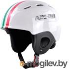 Шлем горнолыжный Salice 2020-21 Kid ITA (р-р 48-56, белый)