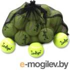Набор теннисных мячей Indigo IN154 (24шт, желтый)