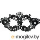 Маска эротическая ToyFa Theatre Цветы / 708021 (черный)