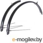 Крылья для велосипеда BBB 20 Cityguard Front & Rear / BFD-40 (черный)