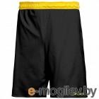 Шорты баскетбольные 2K Sport Training / 130063 (XS, черный/желтый)
