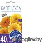 Семена цветов Агро успех Календула Арт шедс махровая смесь (0.5г)