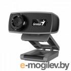 Веб-камера Genius FaceCam 1000X [32200003400] черная, 1Mp, HD 720p@30fps, угол обзора 75°, универсальный держатель, USB2.0, кабель 1.5м