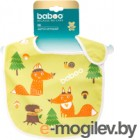 Нагрудник детский Baboo Love Story Fox / 11-605
