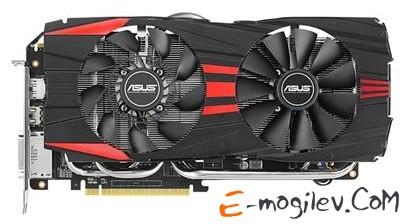 Asus PCI-E ATI R9280X-DC2-3GD5 Radeon R9 280X 3076Mb 384bit GDDR5 1000/6000 DVI*2/DP*4/HDCP RTL