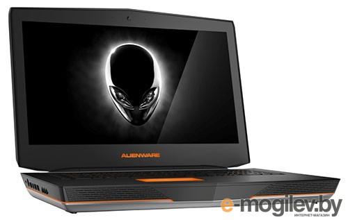 Ноутбук Dell Alienware 18 Core i7-4940MX/32Gb/1Tb/256Gb SSD/DVDRW/GTX880M 8Gb/18.4/FHD/1920x1080/Win 8.1/silver/BT4.0/BlueRay /8c/WiFi/Cam