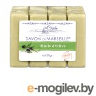 Натуральная косметика для тела La Cigale Мыло марсельское с оливой 4шт по 100g 50445
