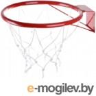 Баскетбольное кольцо No Brand КБ31 №3 с сеткой (295мм)