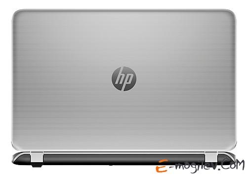 "Ноутбук HP Pavilion 15-p053sr Core i3-4030U/6Gb/750Gb/DVD/GT830M 2Gb/15.6""/HD/Glare/1024x576/Win 8.1/natural silver/BT2.1/6c/WiFi/Cam"