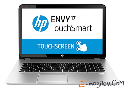 """HP Envy 17-j123sr Core i7-4710MQ/16Gb/2Tb/8Gb SSD/DVD/GT840M 2Gb/17.3""""/FHD/Touch/1920x1080/Win 8.1/natural silver/BT2.1/6c/WiFi/Cam"""