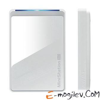 "Buffalo USB 3.0 500Gb HDW-PD500U3-EU MiniStation Air 2 2.5"" white Wi-Fi"