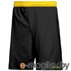 Шорты баскетбольные 2K Sport Training / 130063 (L, черный/желтый)