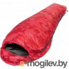 Спальный мешок пуховый 210х80см (t-20C) красный (PR-SB-210x80-R)