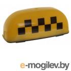 Знаки Taxi (Такси) и аварийные Знак Такси Шашечки Главдор GL-380 25x10x12cm Yellow 52459