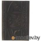 обложки для документов Обложка для паспорта Главдор GL-226 натуральная кожа с тиснением Black 51824