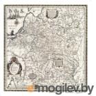 Настенная карта Белкартография Великое Княжество Литовское XVI в. (ламинированный)
