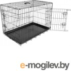 Клетка для животных Duvo Plus Pet Kennel 780/383/DV (черный)
