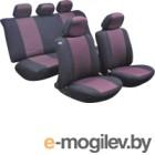 Чехол для сиденья AVG Модель 3 / 204104 (11 предметов, черный/красный)