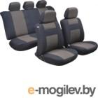 Чехол для сиденья AVG Модель 5 / 204109 (11 предметов, черный/коричневый)