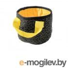 Сумка для хранения Assol, XS, черный/желтый, BEROSSI (Размер: 15х15х12 см. Состав ткани: 35% хлопок, 65% полиэстер)