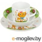 принадлежности для кормления Набор детской посуды Daniks Ласковый котенок 340766