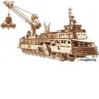 3Д-пазл Ugears Научно-исследовательское судно