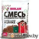 Биоактиватор Biolan Торф для компоста и сухого туалета (40л)