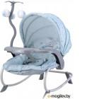 Детский шезлонг Lorelli Dream Time Blue Bunny / 10110062043