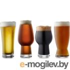 Набор пивных кружек Lyngby Glas 916185 (4шт)