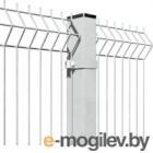 3D панель заборная Lihtar 1030х2500мм 3/4мм 200/50 Оц (металик)