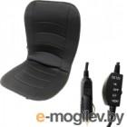 Накидка на автомобильное сиденье AVG 204080 (черный, с подогревом)