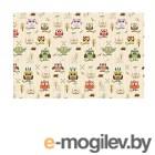 Развивающие коврики Mambobaby Soft Owl&Star Двухсторонний 190х130х1см