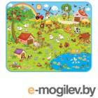 Развивающие коврики Mambobaby Ферма+Звёзды 130х160х0.5см