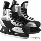 Коньки хоккейные Action Play PW-216Y (размер 39, черный/серый)